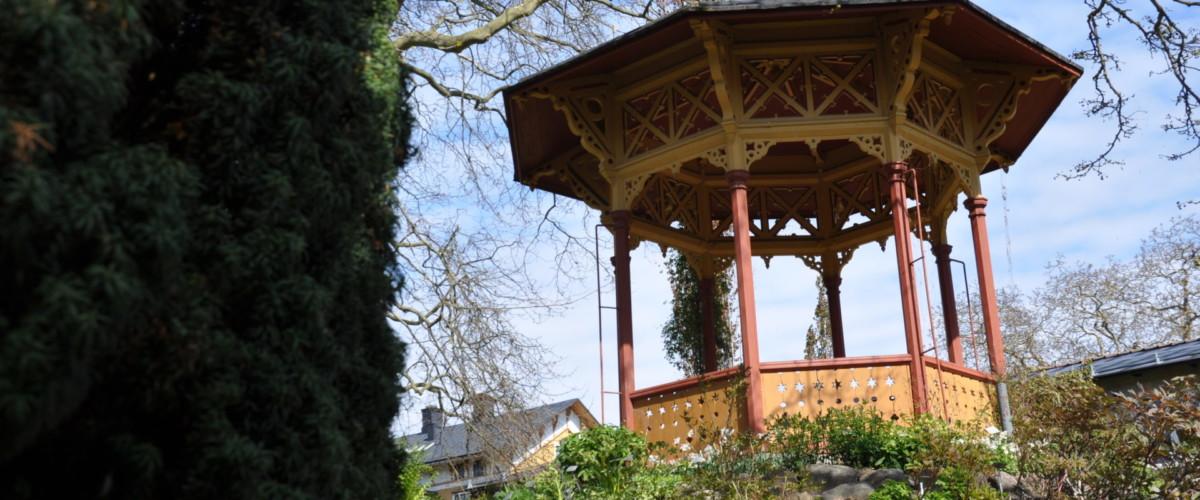 Paviljongen i Botaniska trädgården